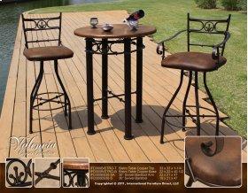 Bistro Table Copper Base
