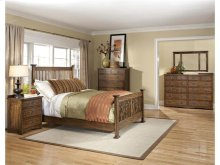 California King Slat Bed Rails