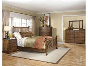 Queen Slat Bed Footboard