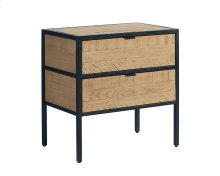Rafter Grid Bedside Chest