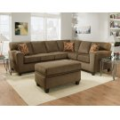 3100 - Cornell Cocoa Sectional Product Image