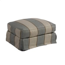 Sunset Trading Horizon Slipcovered Ottoman - Color: 479541