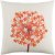 """Additional Agapanthus AP-002 18"""" x 18"""" Pillow Shell with Down Insert"""