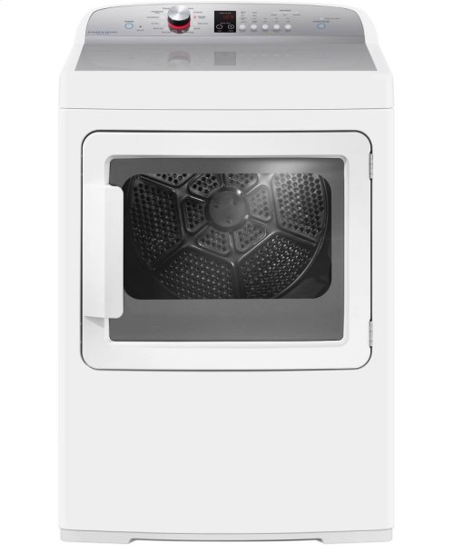 AeroCare Electric Dryer with SmartTouch Dial and Steam Cycles