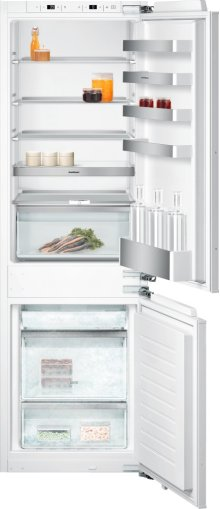 """200 Series Two-door Bottom Freezer Without Ice Maker. Fully Integrated Niche Width 22 1/4"""" (56 Cm)"""