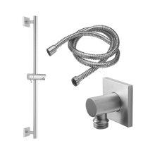 Slide Bar Handshower Kit - Cylinder Handle With Square Base