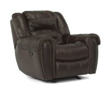 Crosstown Leather Glider Recliner