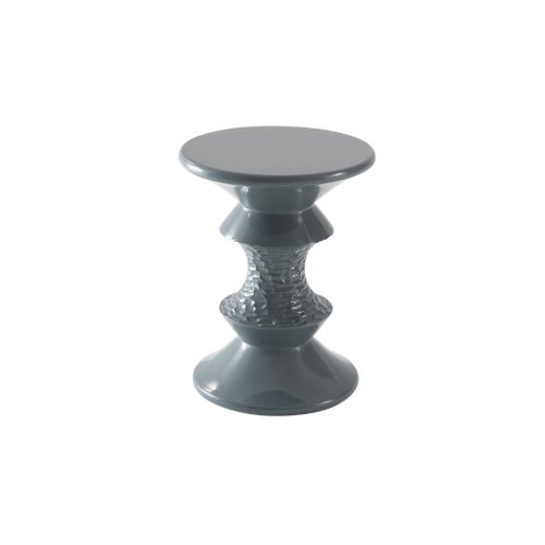 Chess Accent Table, Hydra Blue