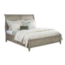 Savona Queen Anna Sleigh Bed 5/0 Complete