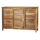 Louvered Sideboard 3 Door Product Image