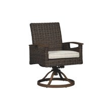 Swivel Chair w/Cushion (2/CN)
