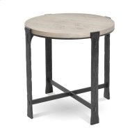 Woodland Round End Table Product Image