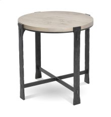 Woodland Round End Table