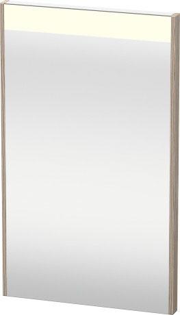 Mirror With Lighting, Pine Silver (decor)
