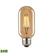Medium LED 3-watt Bulb with Light Gold Tint