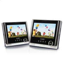 7 inch Dual Screen Tablet Portable DVD Player