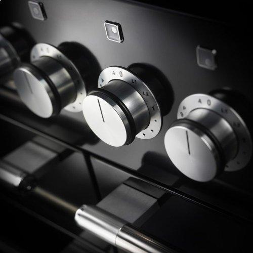 Matte Black AGA Mercury Dual Fuel Range  AGA Ranges