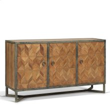 Ripley Parquet Buffet/Sideboard with 3 Doors