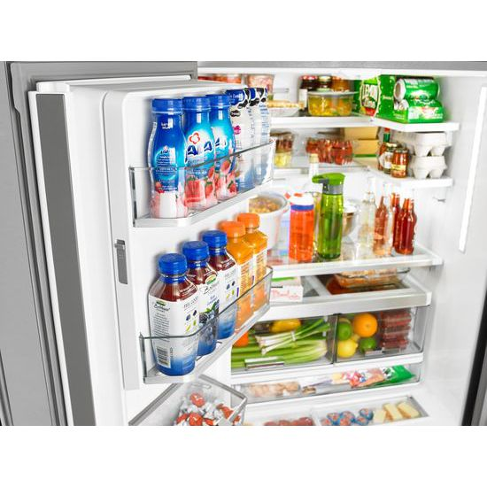 Whirlpool® 36 Inch Wide French Door Refrigerator With Infinity Slide  Shelves   32 Cu