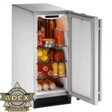 "Stainless Outdoor, left-hand Outdoor Series / 15"" Refrigerator"