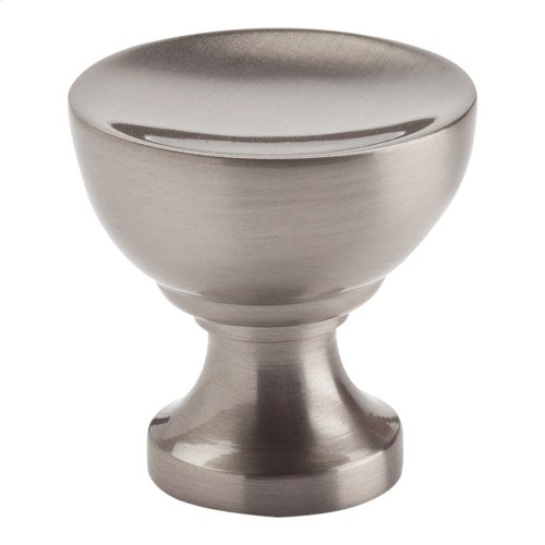 Shelley Round Knob 1 1/4 Inch - Brushed Nickel