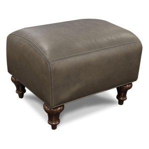 England Furniture Leather Remy Ottoman 8837al