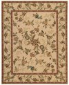VALLENCIERRE VA01 BGE RECTANGLE RUG 7'6'' x 9'6''