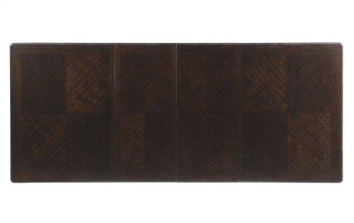 """Aubrey Two Leaf Table, 40""""x60""""x 78""""x96"""" w/Two 18"""" Leaves"""