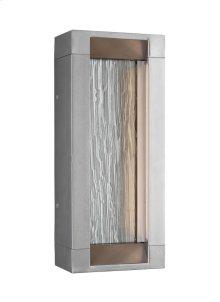 2 - Light Outdoor LED Wall Lantern