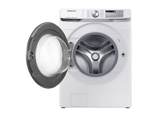 WF6300 4.5 cu. ft. Smart Front Load Washer with Super Speed in White