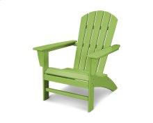 Lime Nautical Adirondack Chair