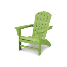 Lime Nautical Adirondack Chair