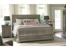 Sleigh Bed King 66
