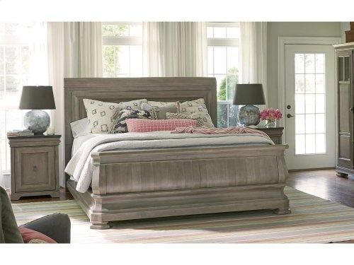 Sleigh Bed Queen 50