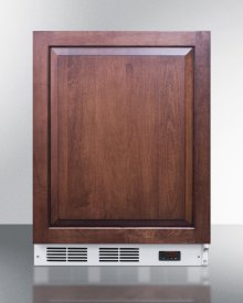 Built-in Medical All-freezer Capable of -25 C Operation; Door Accepts Full Overlay Panels