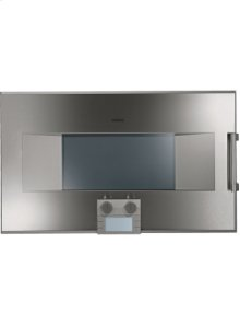 """200 series Combi-steam oven BS 261 610 Stainless steel-backed full glass door Width 30"""" (76 cm) Left-hinged Controls at the bottom"""