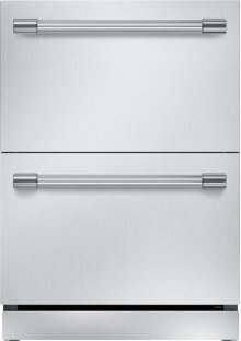 24 inch UNDER-COUNTER DOUBLE DRAWER REFRIGERATOR T24UR920DS