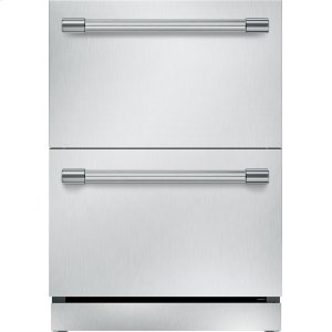 THERMADOR24 inch UNDER-COUNTER DOUBLE DRAWER REFRIGERATOR T24UR920DS