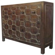 Silvestro Distressed Sideboard 2 Drawers + 2 Doors, Antique Brown Product Image