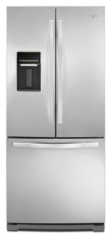 30-inch Wide French Door Refrigerator with Exterior Water Dispenser - 19.7 cu. ft.
