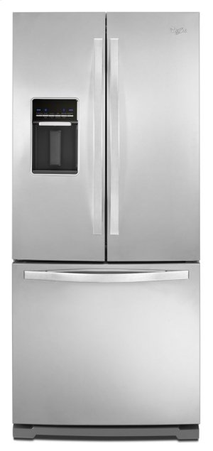 CLOSEOUT-Whirlpool® 19.6 cu. ft. French Door Refrigerator with Exterior Water Dispenser