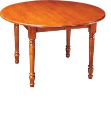 """Susan 48"""" Table w/Two 12"""" Leaves"""