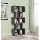 """Weathered Grey 70"""" Bookcase Product Image"""