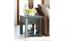 Tower Suite - Moonstone Finish Chairside Table