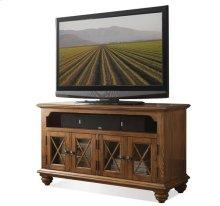 50-Inch TV Console Northwoods Oak finish