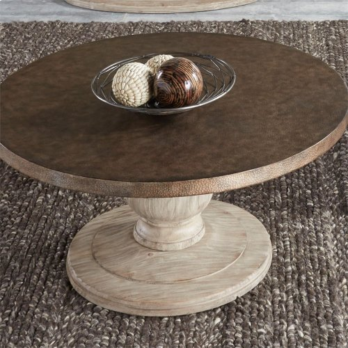 Round Cocktail Table Base