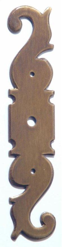 Classic Keyhole Escutcheons (round hole)