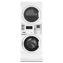 Maytag® Commercial Energy Advantage™ Stack Washer/Dryer, Microprocessor Controls - White