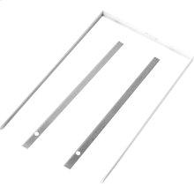 "15"" Trash Compactor Panel Trim Kit - White"