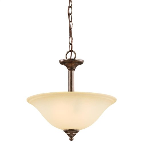 Armida Collection Armida 2 Light Semi Flush/Inverted Pendant NI